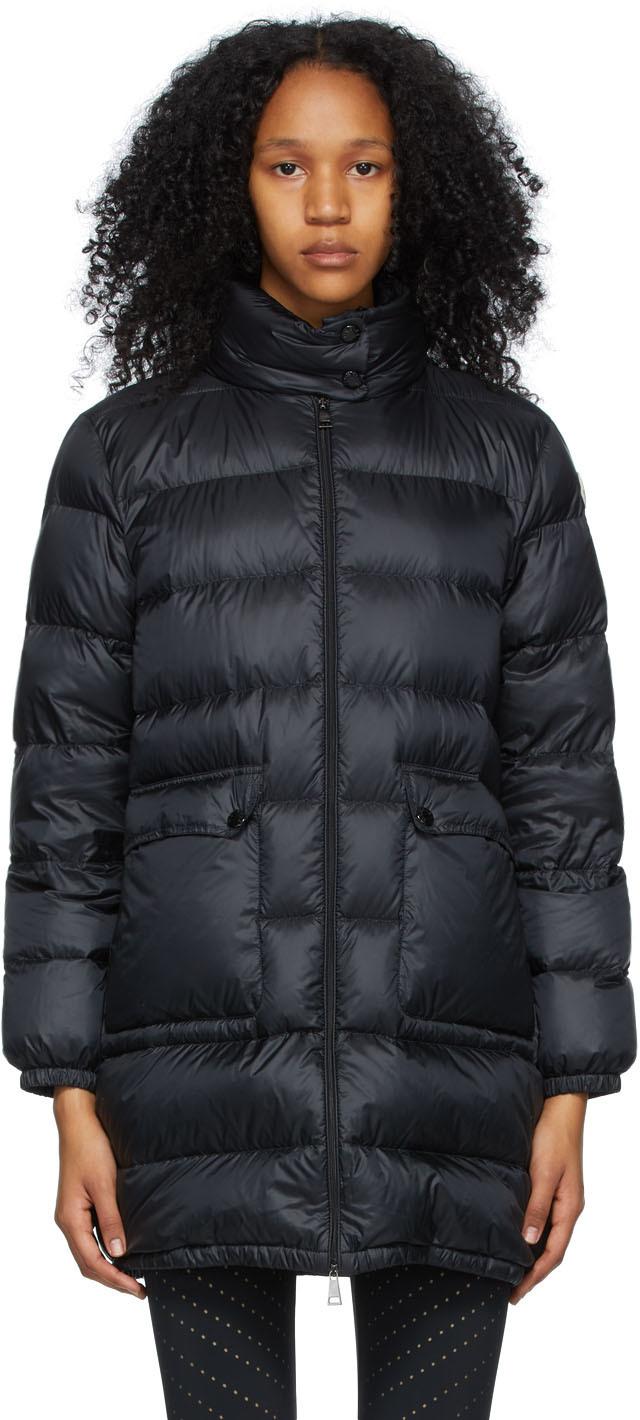 Moncler 黑色 Abricotier 羽绒大衣