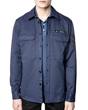 Zadig & Voltaire Navy Cotton Shirt