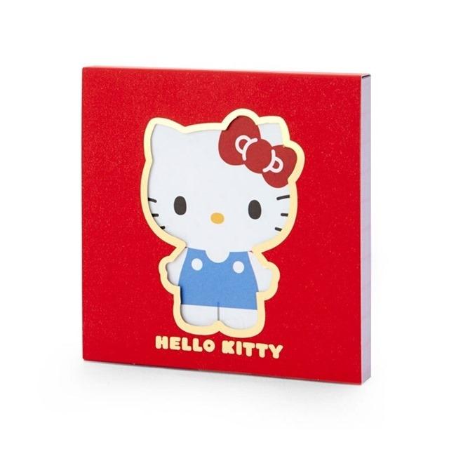 Hello Kitty 日製 方形便條本 迷你便條本 便箋本 備忘錄
