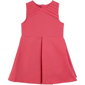 Jacadi Raspberry Pleated Party Dress 5 years