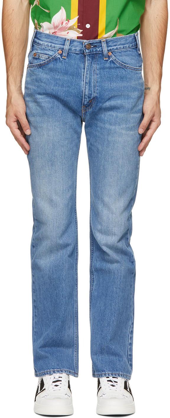 Valentino 蓝色 Levi's 联名 517 牛仔裤