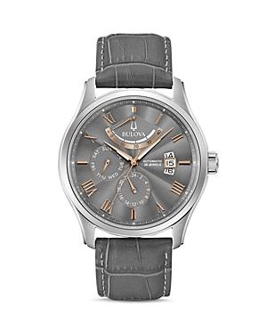 Bulova Classics Wilton Automatic Power Reserve Watch, 43mm