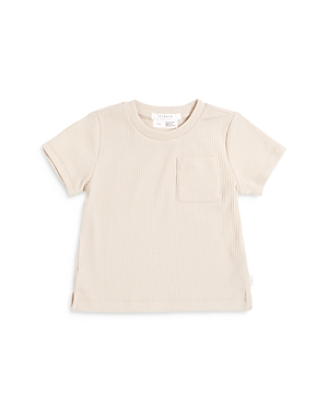 Firsts by petit lem Boys' Ribbed Pocket Tee - Baby