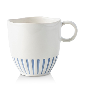 Juliska Sitio Stripe Indigo Mug