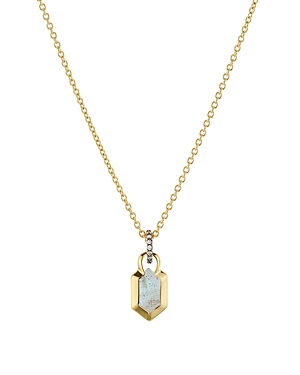 Nadri Venice Pendant Necklace in 18K Gold-Plated Sterling Silver, 16