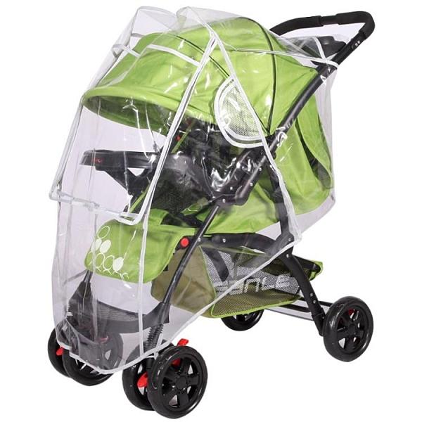 一次性車罩透明疫情防護裝備嬰兒疫情防護裝備防飛沫嬰兒推車雨罩 初色家居館