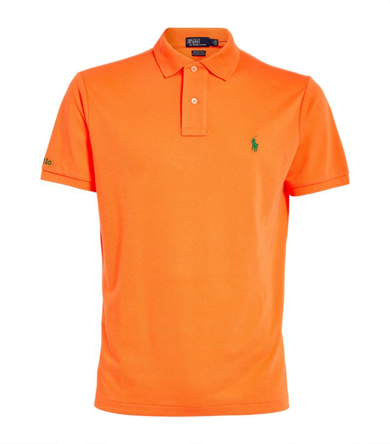 Polo Ralph Lauren Mesh Custom-Fit Polo Shirt