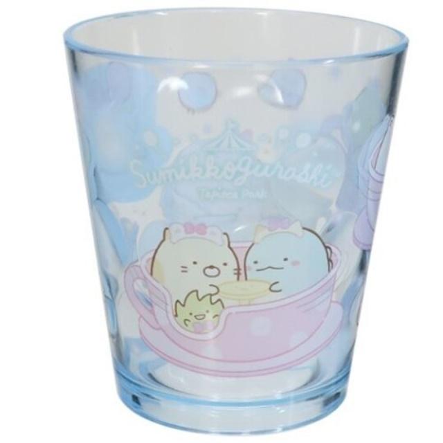 角落生物 無把塑膠杯 透明杯 壓克力杯 兒童水杯 300ml