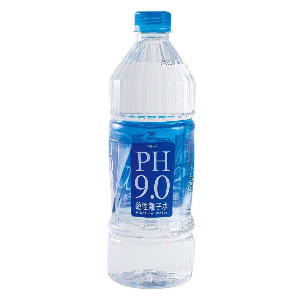 統一 PH9.0鹼性離子水(800ml*20瓶/箱)【好地方超市】