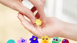 日本進口~Pocket Soap 攜帶方便 病毒造型 口袋 洗手皂/洗手錠(36錠/盒)預購品-下單請先詢問到貨日