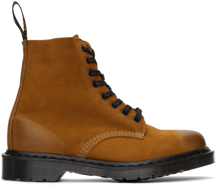Dr. Martens 黄褐色 1460 Pascal Titan 英产踝靴