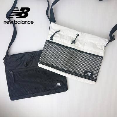 [New Balance]韓系休閒斜背小包_中性_黑色_BGCBAA604BK