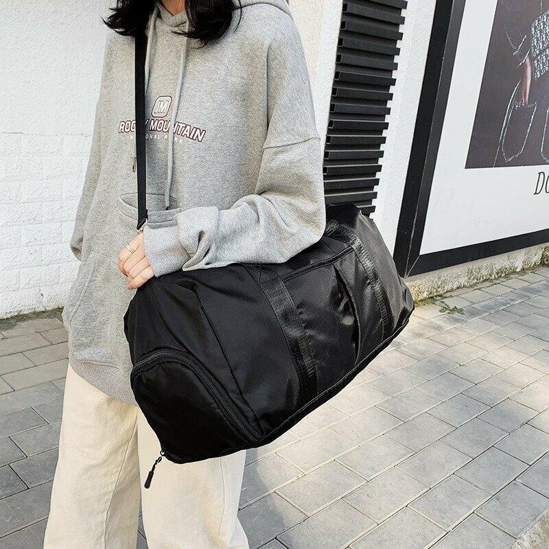 2020新款健身包運動大容量旅行包手提單肩包便攜出差便攜行李袋