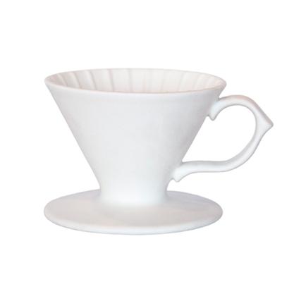 Tiamo 原礦手作濾杯V01 - 凝雪白(HG5531W)