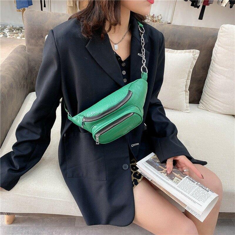 菱格簡約鏈條小包包女包2020秋冬新款潮時尚復古斜挎包單肩腋下包