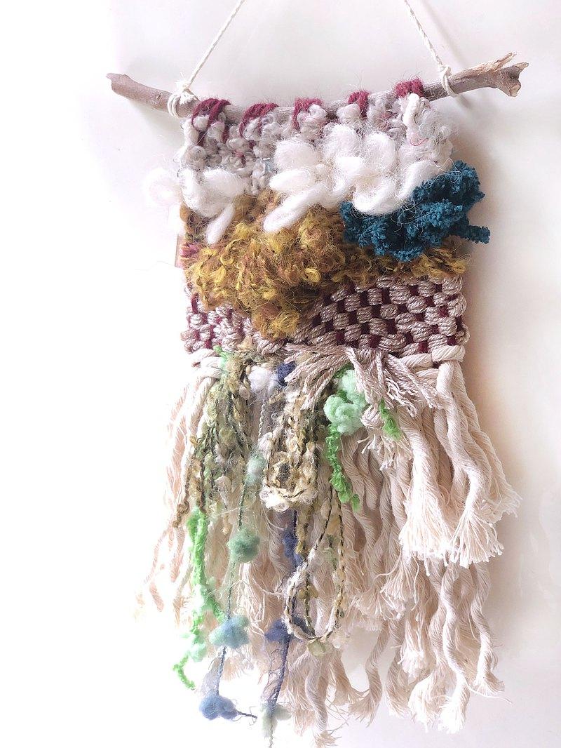 藝術編織壁飾 - 若竹