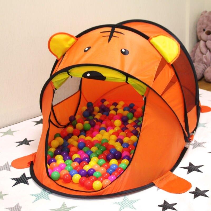 兒童帳篷室內外玩具游戲屋公主寶寶過家家女孩折疊大房子海洋球池套餐組合