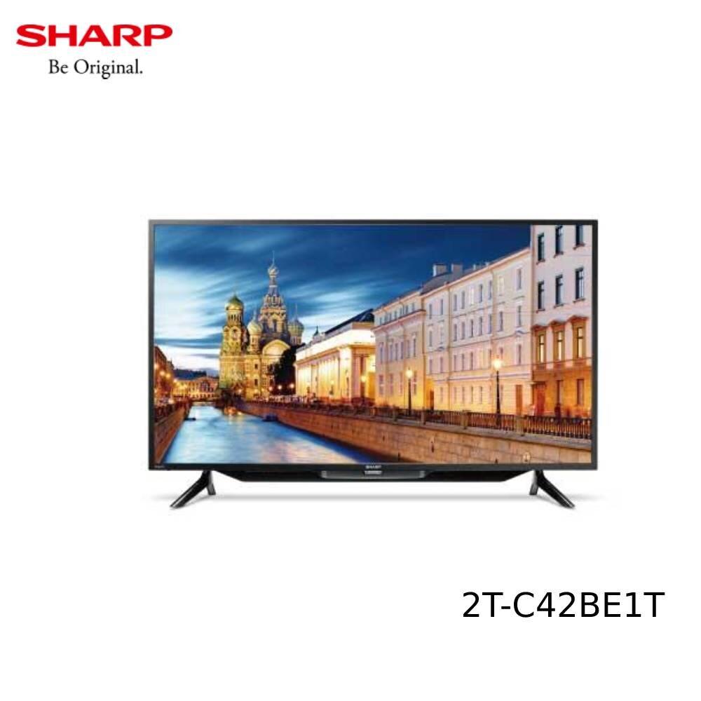 【不含基本安裝】SHARP 夏普 42吋 直下式LED液晶顯示器 2T-C42BE1T