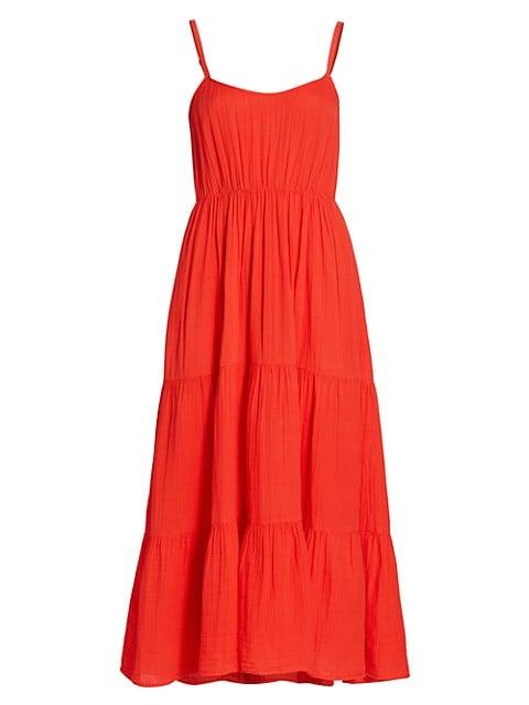 Ali Tiered Midi Dress