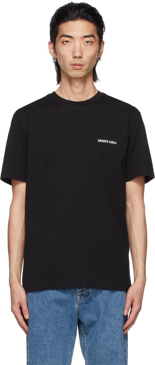 Axel Arigato 黑色 London 有机棉 T 恤