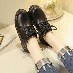 【Alice】(預購)獨賣韓風質感皮鞋(皮鞋/馬丁靴)