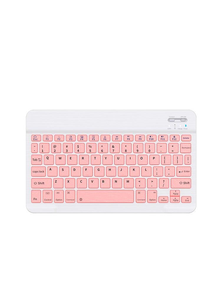 ipad藍牙鍵盤鼠標套裝蘋果平板筆記本電腦辦公打字專用可連手機便攜靜音充電無線鍵鼠套裝通用適用Huawei華為
