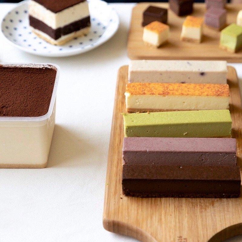 【居家防疫甜點】起司條口味自己選6條+提拉米蘇一盒