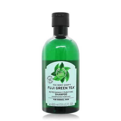*THE BODY SHOP 富士山綠茶淨化洗髮精400ml-國際航空版