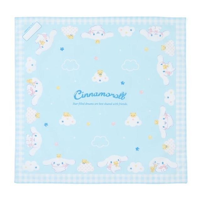大耳狗 日製 純棉紗便當包巾 餐巾 手帕 桌巾 43x43cm