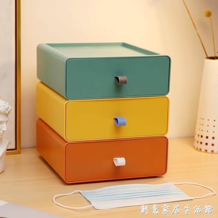 口罩收納盒家用大容量大號裝口鼻罩存放夾神器暫存保護箱日式盒子