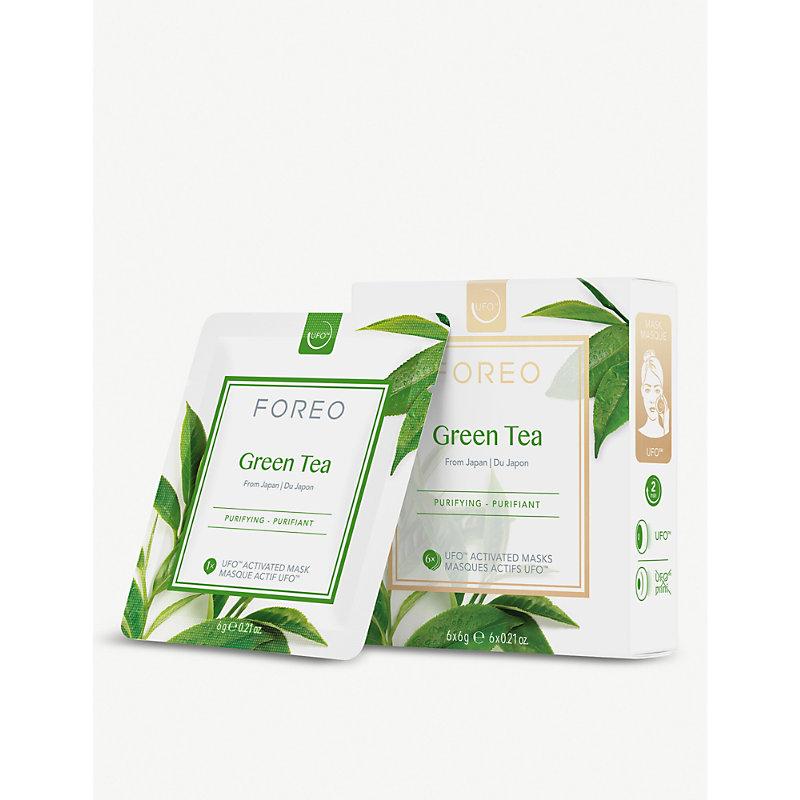 UFO Smart Mask Treatment Green Tea pack of six