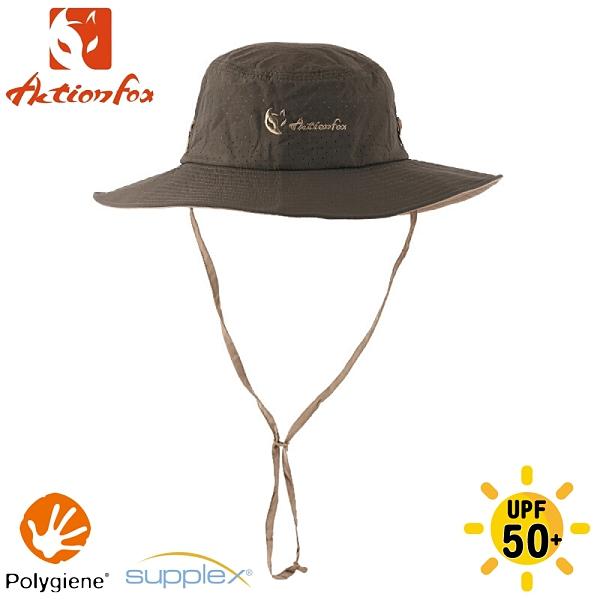 【ActionFox 挪威 抗UV快乾透氣圓盤帽《叢林》】631-5266/圓盤帽/防曬帽/透氣/登山/園藝