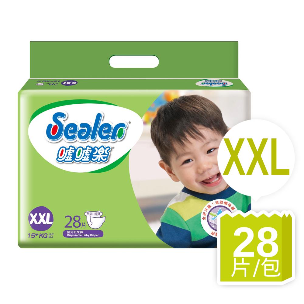 噓噓樂輕柔乾爽紙尿褲XXL(28片/包)