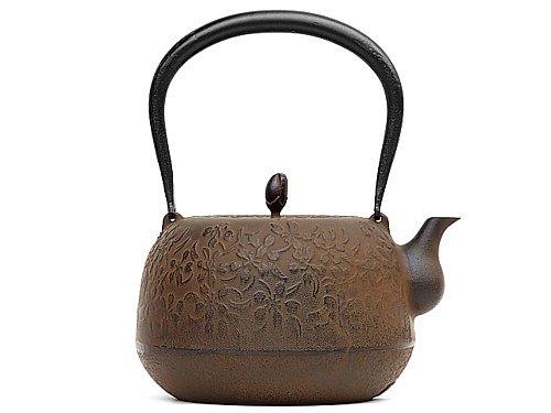 南部鐵器 鐵瓶 鐵壺 春櫻花1.5L