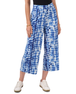 Vince Camuto Cropped Tie-Dyed Pants