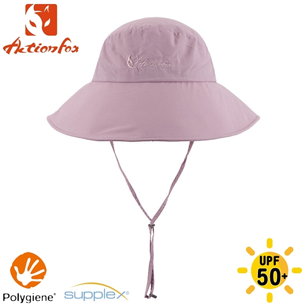 【ActionFox 挪威 抗UV快乾遮陽帽《淡粉》】631-5262/漁夫帽/防曬帽/休閒帽