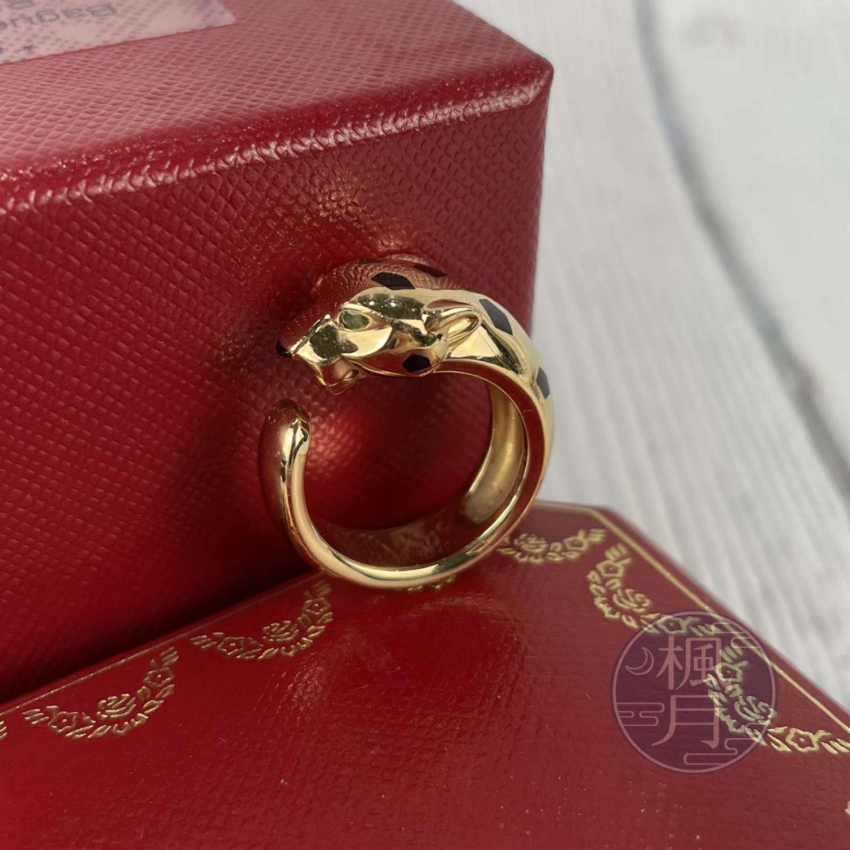 BRAND楓月 Cartier 卡地亞 PANTHÈRE DE CARTIER K18 美洲豹戒指 #51 戒指 造型戒