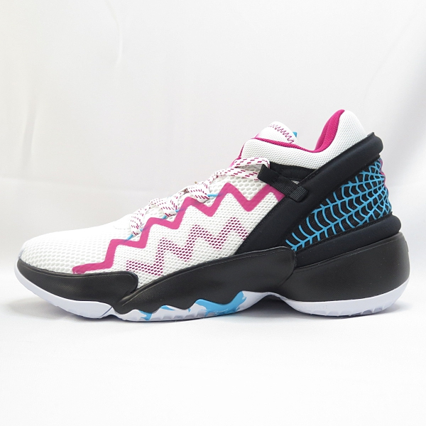 ADIDAS D.O.N. ISSUE 2 男款 籃球鞋 運動鞋 公司貨 FZ1432 白X桃紅【iSport愛運動】