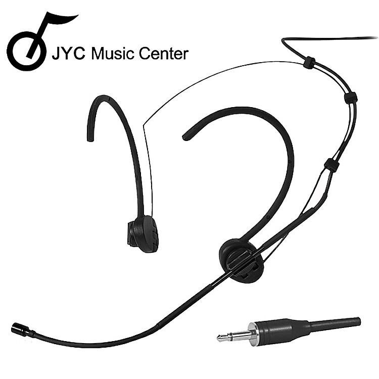 jyc music嚴選q-f035b頭戴式麥克風-迷你款黑色/全指向性/3.5mm耳機接口適用