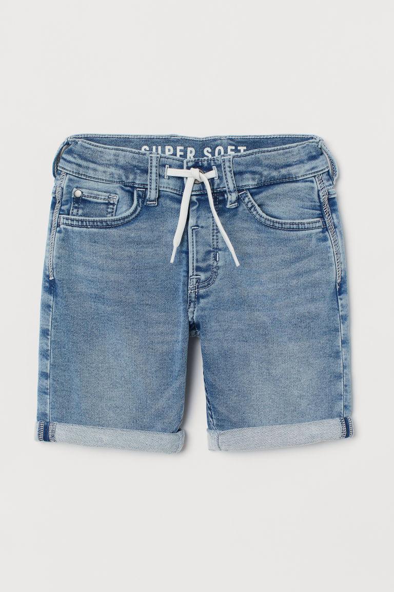 H & M - 特柔貼身短褲 - 藍色