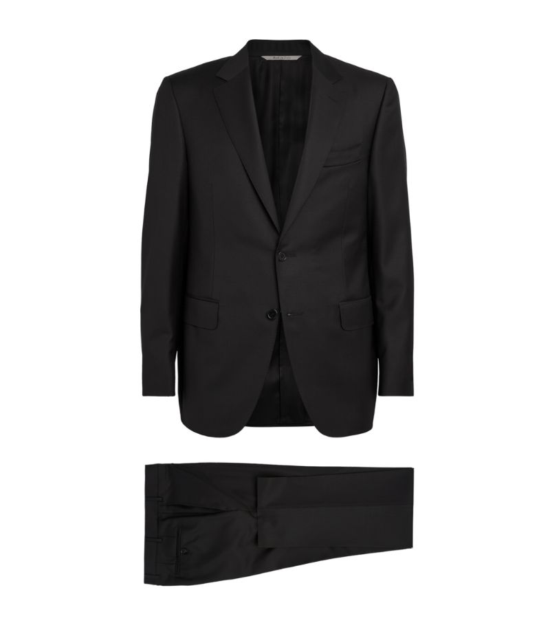 Canali Wool Twill Suit