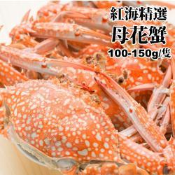 海肉管家-斯里蘭卡母花蟹(20隻/每隻約100g~150g)