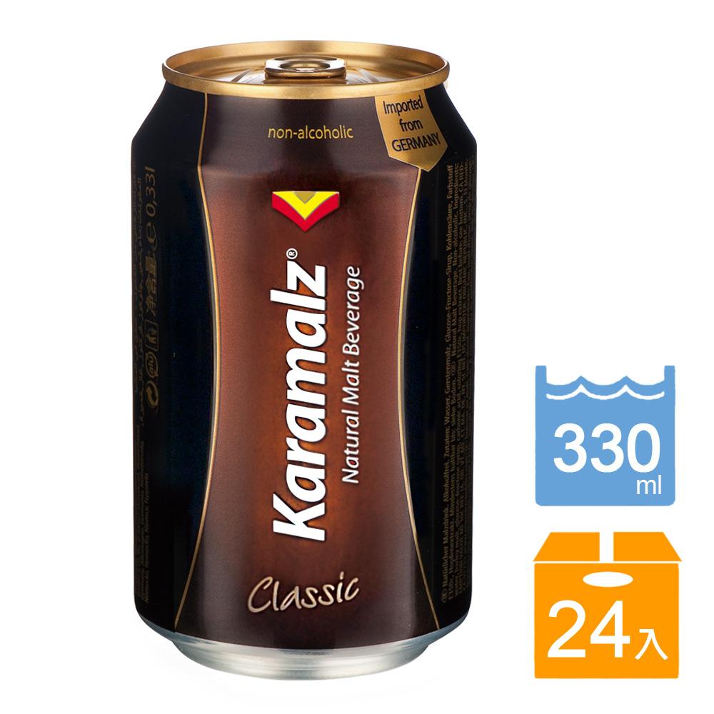 德國進口卡麥隆Karamalz黑麥汁(原味)_罐裝(330ml*24入)