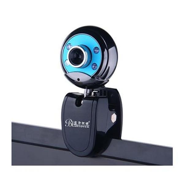 藍色妖姬w9高清攝像頭電腦臺式筆記本帶麥克風usb免驅動網課專用 印象家品旗艦店