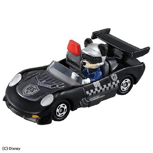 小禮堂 TOMICA多美小汽車 米奇妙妙車隊 米奇 特務米奇 玩具車 模型車 (DS-06 黑) 4904810-16313