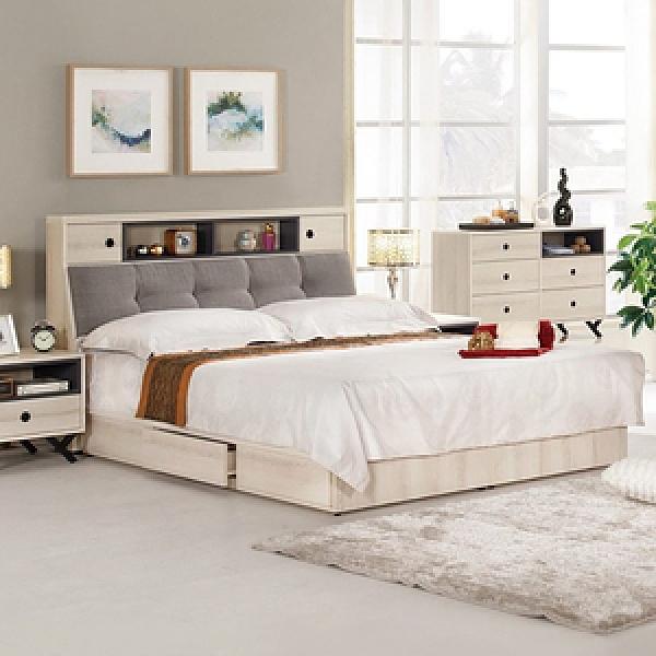 優娜5尺被櫥式雙人床