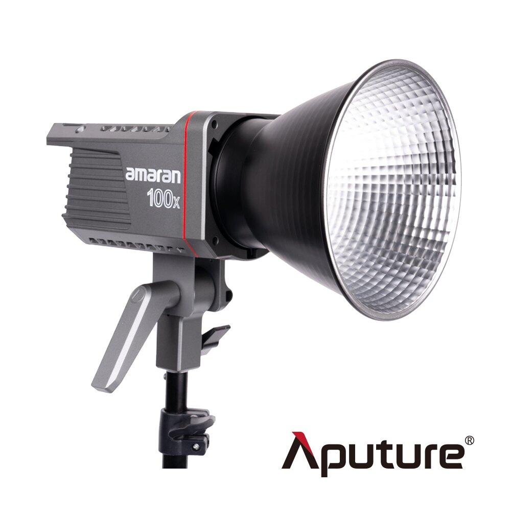 ..  Aputure 愛圖仕 艾蒙拉 Amaran 100X Bi-Color 雙色溫 LED聚光燈 2700-6500K 高亮度 攝影燈 持續燈 特效 Bowens 保榮 公司貨