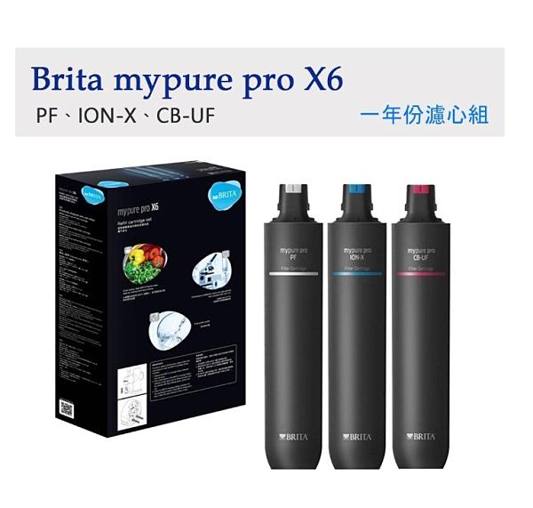 德國 BRITA mypure pro X6 超微濾四階段過濾系統專用替換濾心