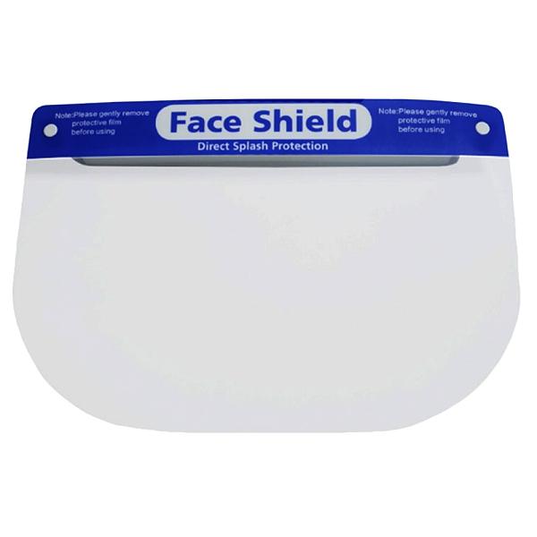 【3期零利率】全新 FS-03可調節透明安全防護面罩 20入 防飛沫噴濺 高度透明 親膚海綿 加大面罩