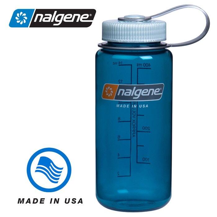 【Nalgene 美國】寬口水壺《鱒魚綠》運動水壺 水瓶 隨身水壺 (2178-2316) 【容量500ml】